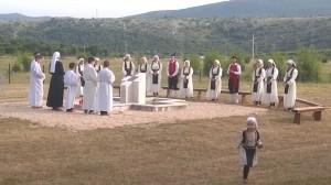 Komemoracija žrtvama II svjetskog rata i poraća na Radimlji, 2015.