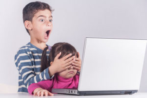 Internet safety for kids concept