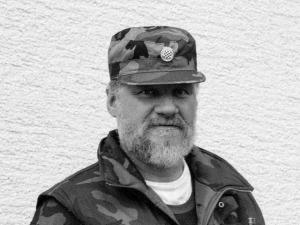 sp Slobodan Praljak from the war. Photo Beta 640