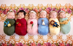 ds Photo-Shoot-Babies-Disney-Princesses