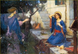 jwh A_Annunciation_John_William_Waterhouse_1914