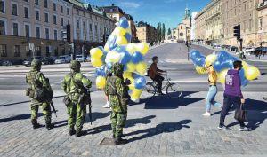 šmnp švedska vojska stockholm