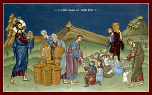 mt 15,32 Blessing_of_the_Five_Loaves