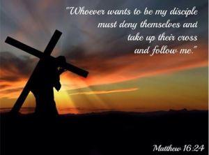 mt 16,24 The Cross of Jesus by Pastor Mark Jensen