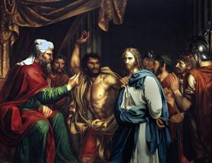mt 26-57 Jesús_en_casa_de_Anás_Museo_del_Prado_José_de_Madrazo