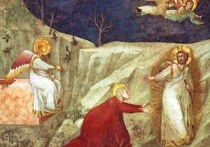 Giotto-Marija-Magdalena-i-uskrsli-Krist