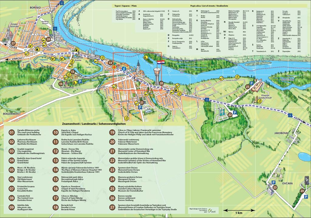 vukovar mapa