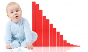 S rekordnim padom nataliteta